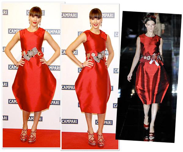 jessica alba gowns. Jessica Alba wore a fabulous